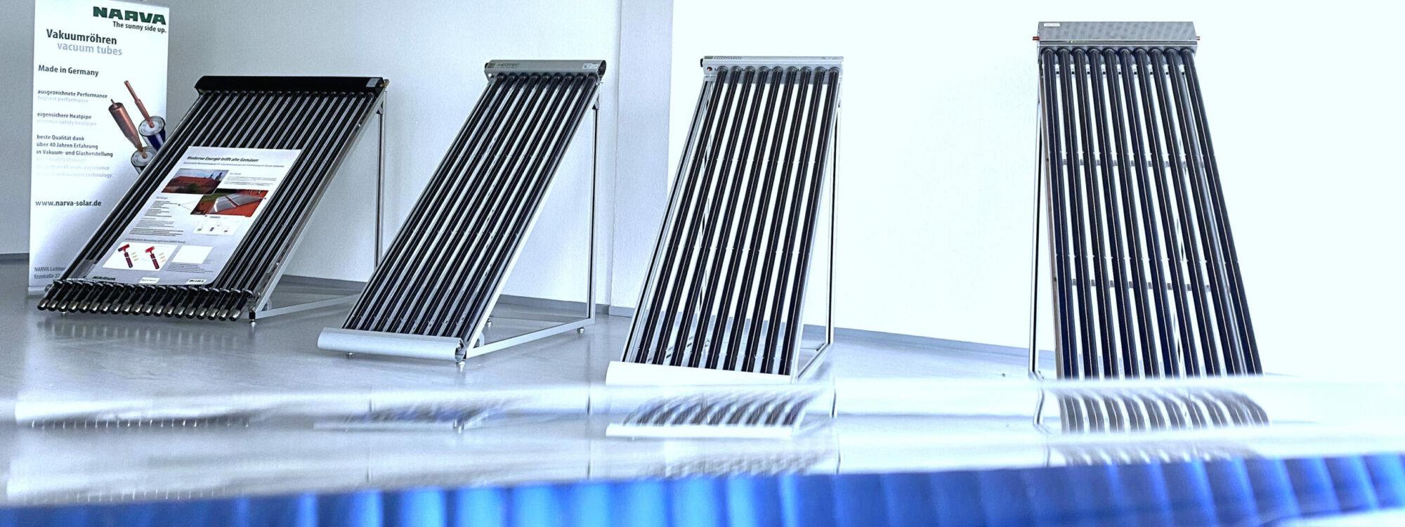 NARVA Lichtquellen Showroom Solarthermie